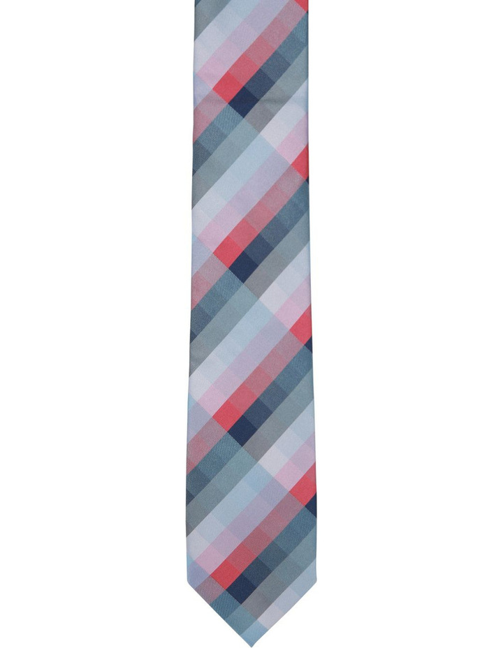 Check Polyester Tie image 1