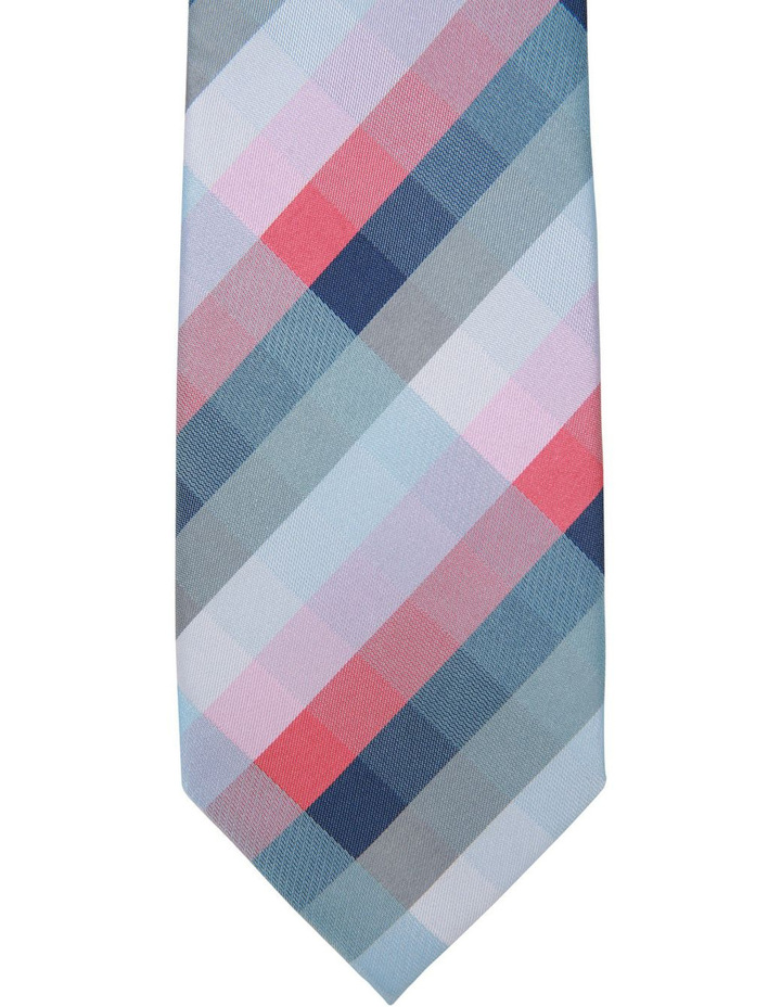 Check Polyester Tie image 2