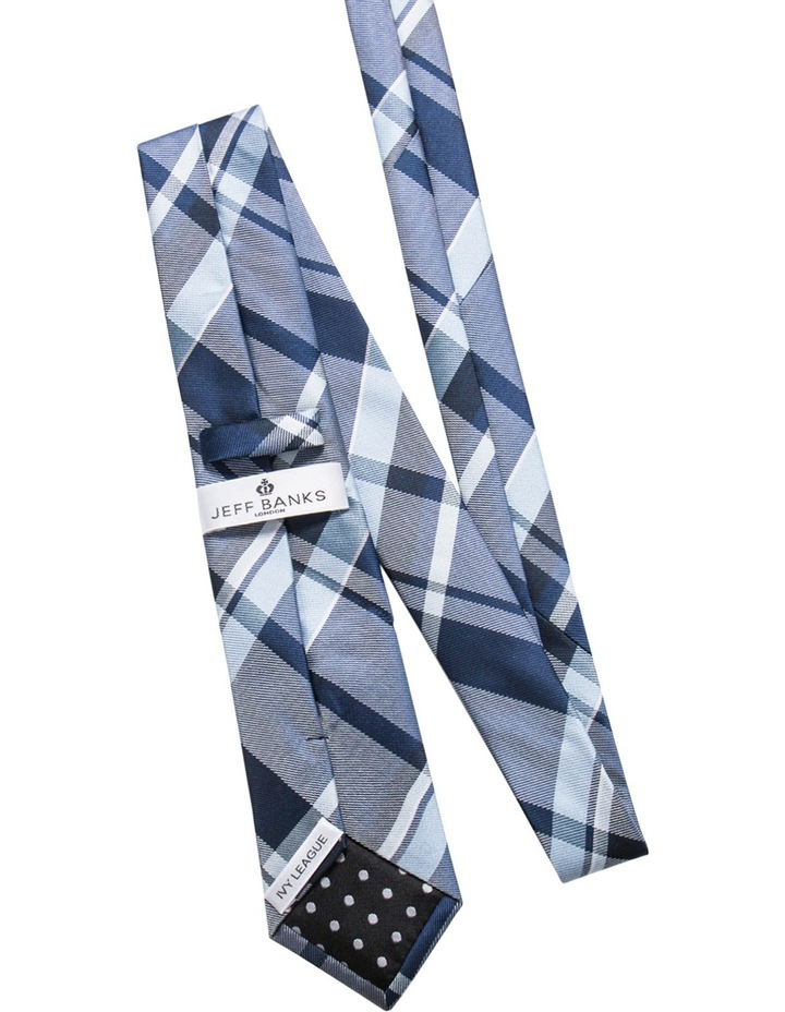 Navy/Navy Check 2 Pack Tie image 2