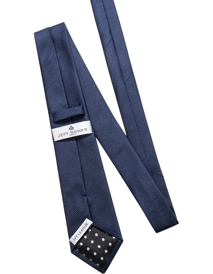Navy/Navy Check 2 Pack Tie image 4