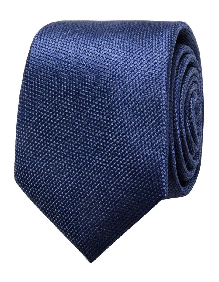 Navy Plain Tie image 1