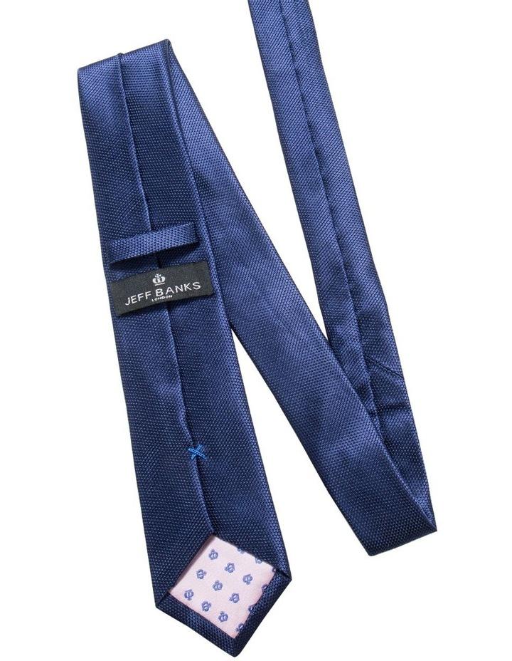 Navy Plain Tie image 2
