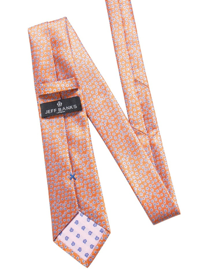 Floral Orange Tie image 2