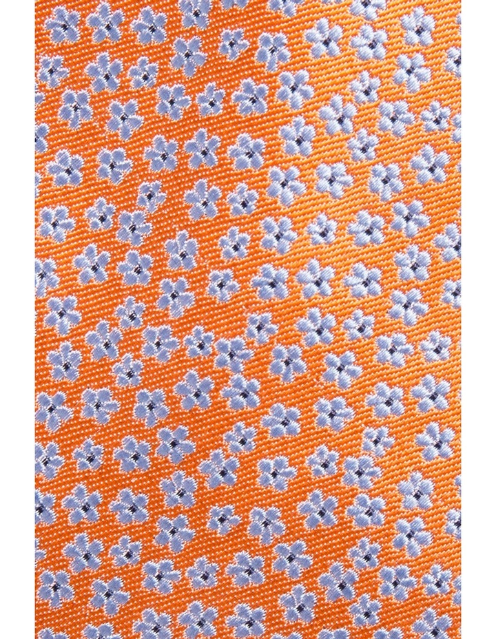 Floral Orange Tie image 3