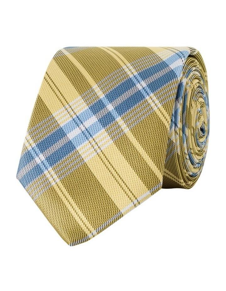 Gold Plaid Tie image 1