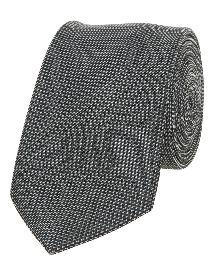 Black And Charcoal Tie HORSENS / 6KT8205 image 1