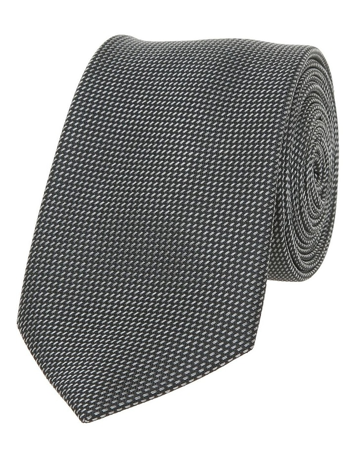 Black And Charcoal Tie HORSENS / 6KT8205 image 2