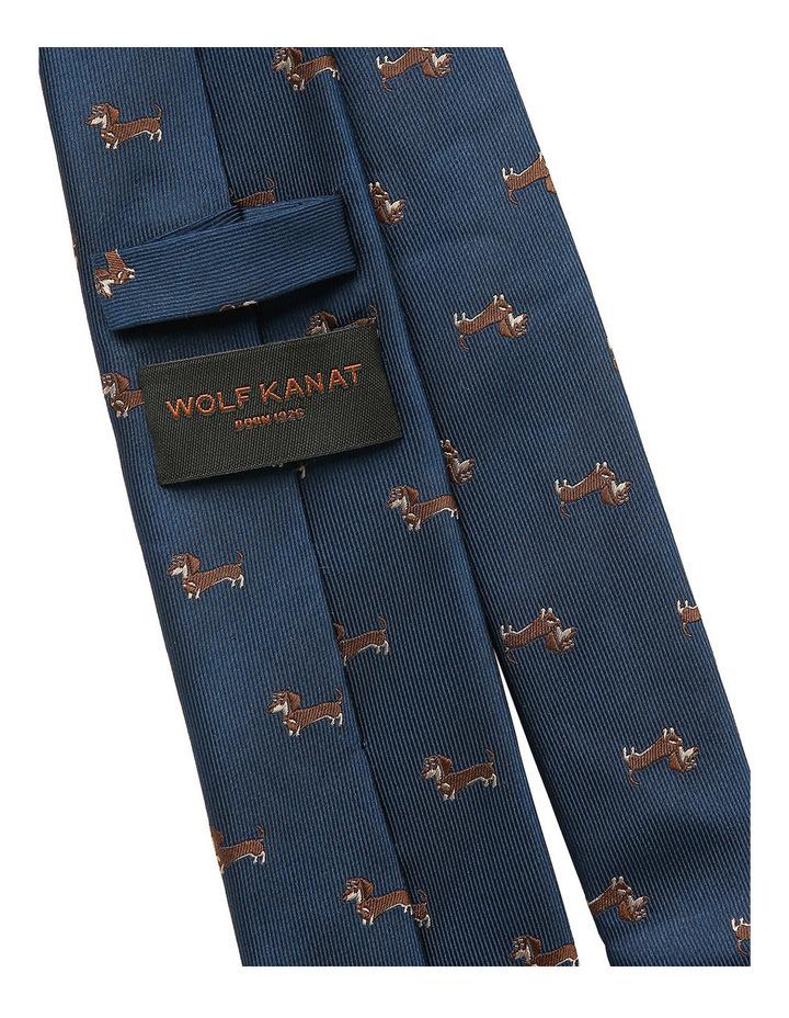 Navy / Brown Dog Tie image 2