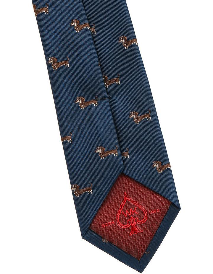 Navy / Brown Dog Tie image 3