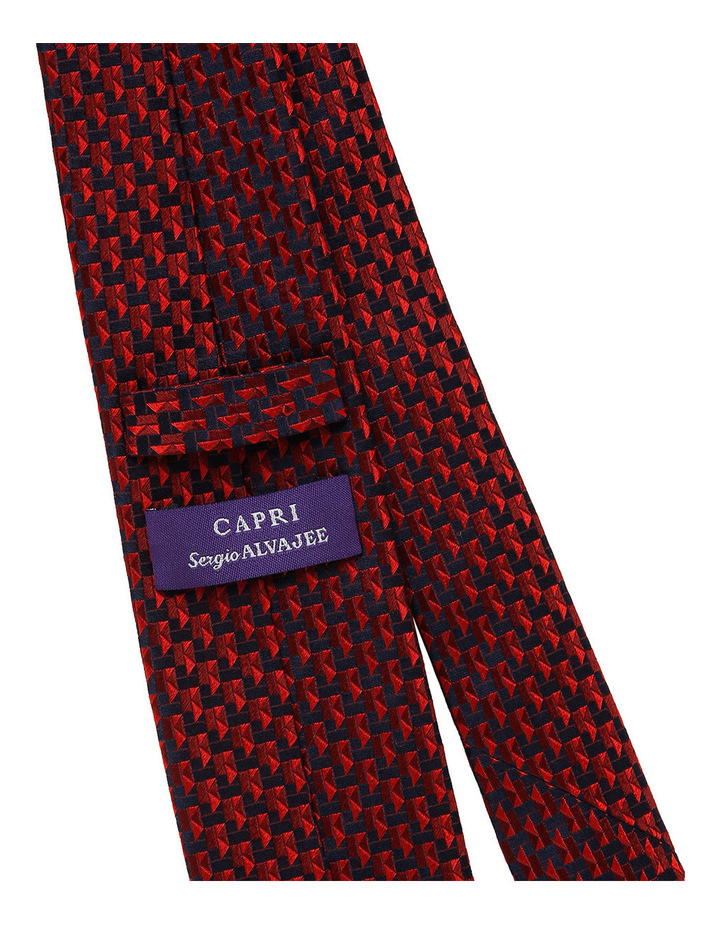 Sergio Capri X20647-5 Red/Navy Pattern image 2