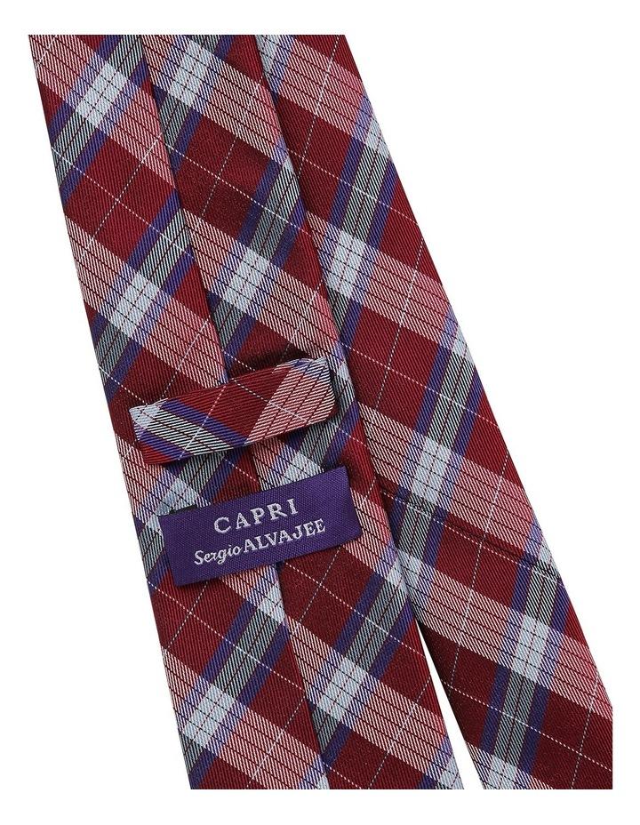 Sergio Capri Red/Purple Check X17753-4 image 2