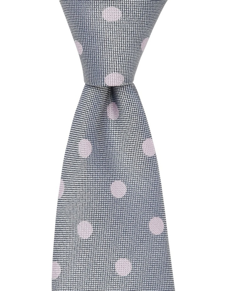 Tie Lab Tie, Pocket Square, Sock Gift Pack Lilac image 2