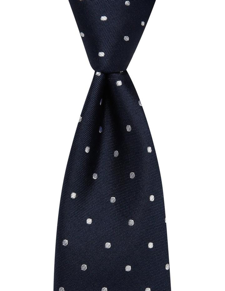 Poly Spot/Spot Tie Gift Pack Navy/Orange image 2