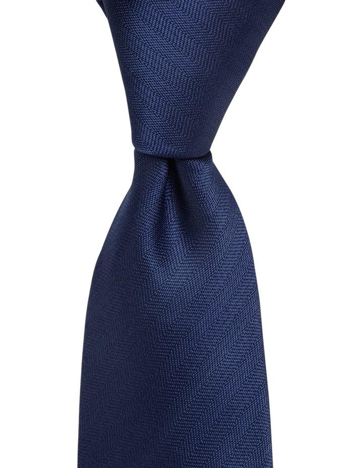 Poly Spot/Plain Tie Gift Pack Royal/Orange image 3