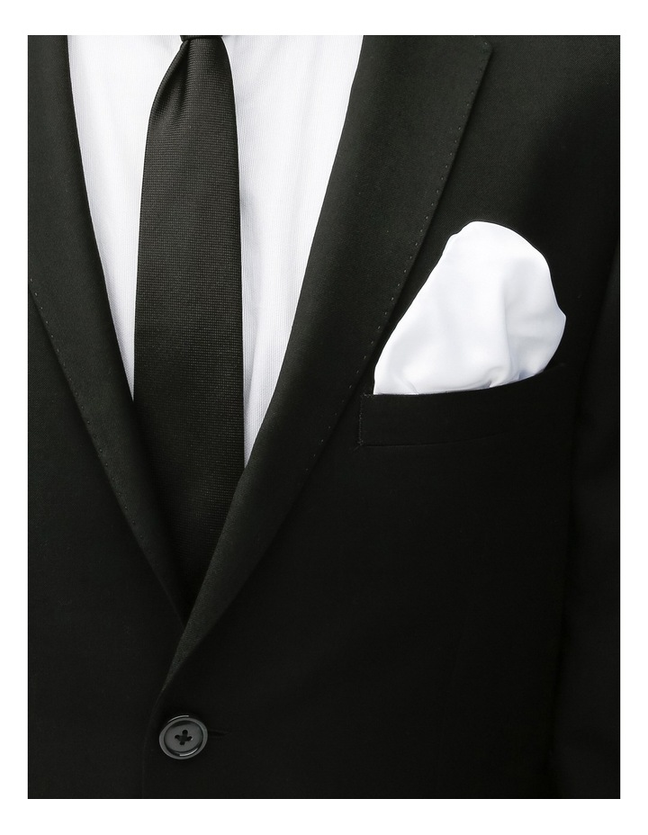 Poly Spot/Plain Tie Gift Pack Black/White image 4