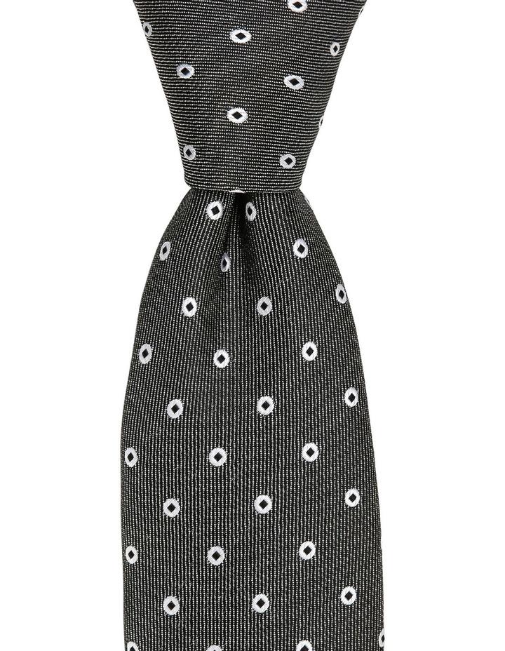 Poly Spot Tie Black image 2