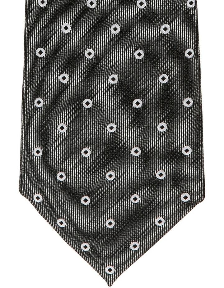 Poly Spot Tie Black image 3