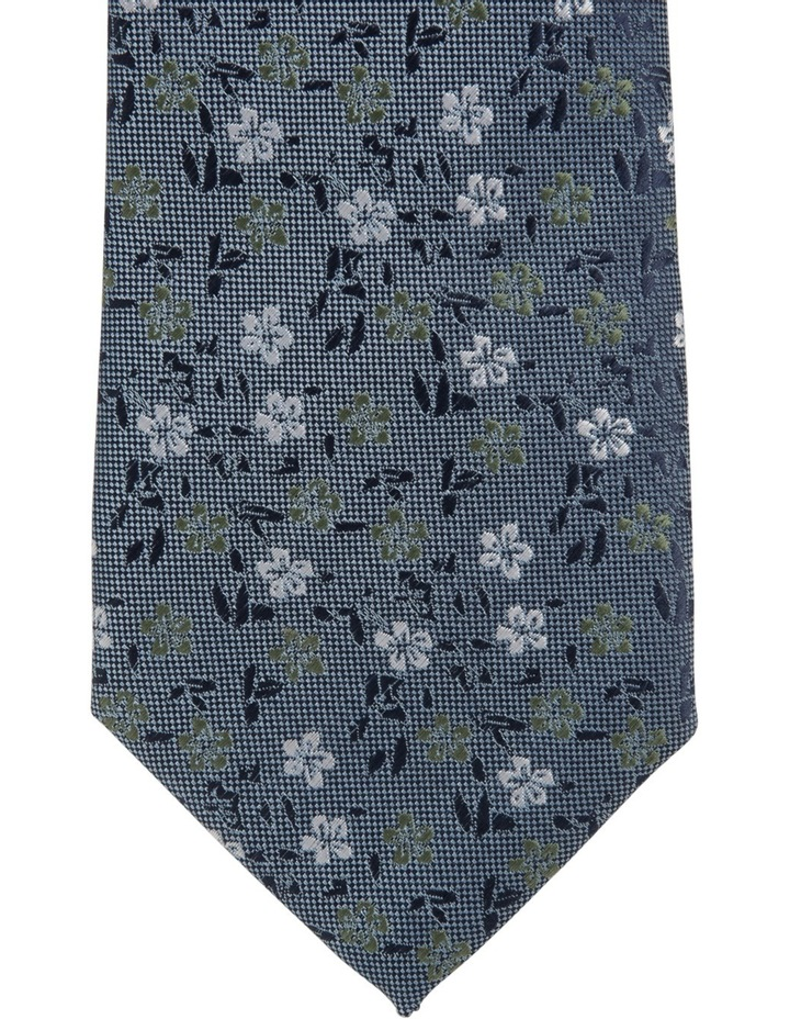 Poly Floral Tie Royal image 3