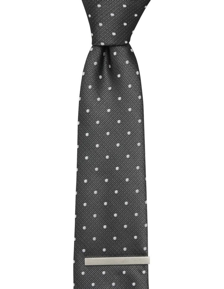 Spot Poly Tie / Tie Bar Black image 2