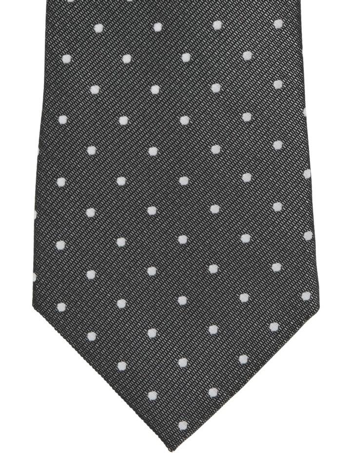 Spot Poly Tie / Tie Bar Black image 3