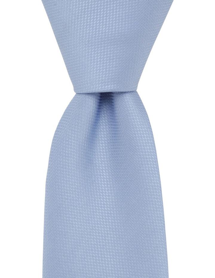 Plain Poly Tie / Tie Bar Blue image 1