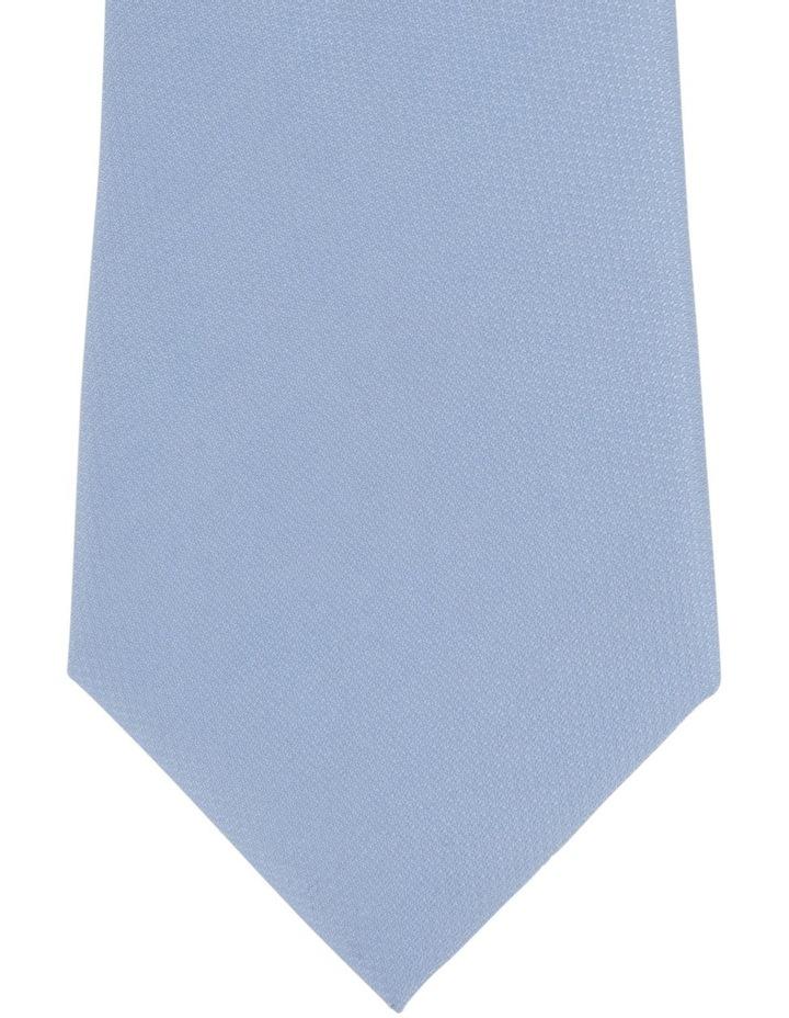 Plain Poly Tie / Tie Bar Blue image 3