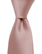 Plain Silk Tie Pink