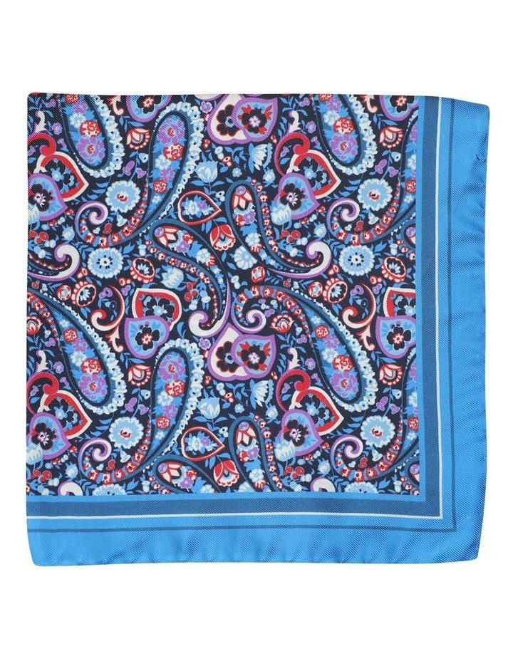 Folk Paisley Pocket Square image 1