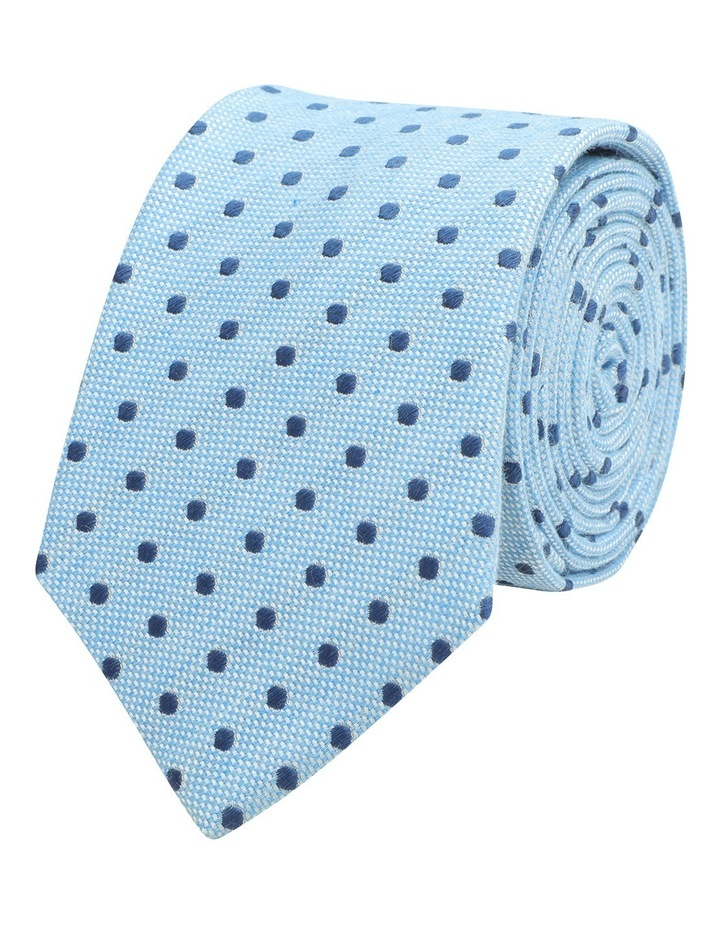 Cotton/Silk Polkadot 7cm Tie image 1