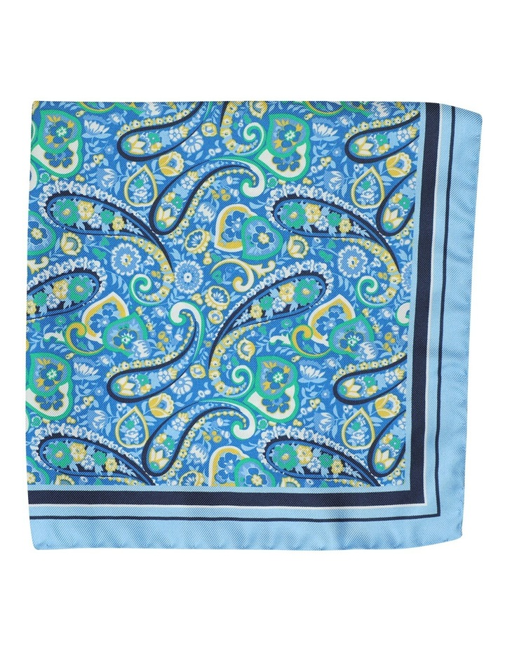 Folk Paisley Pocket Square image 1