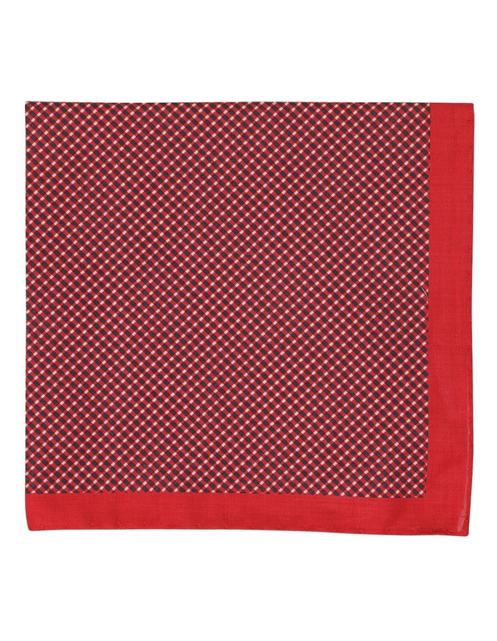 Basketweave Cotton Pocket Square image 1