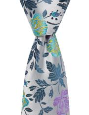 Silk-Flower Tie