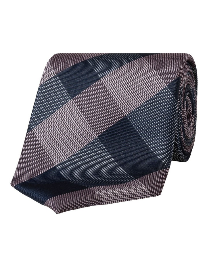 CHECK TIE PINK image 1
