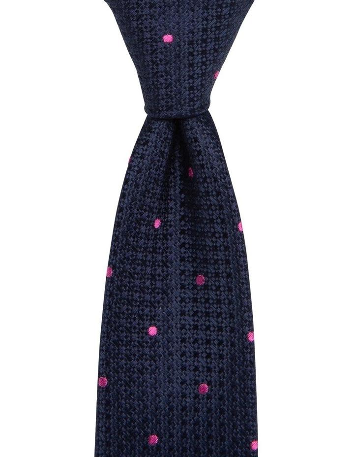 Textured Tie Pink image 1