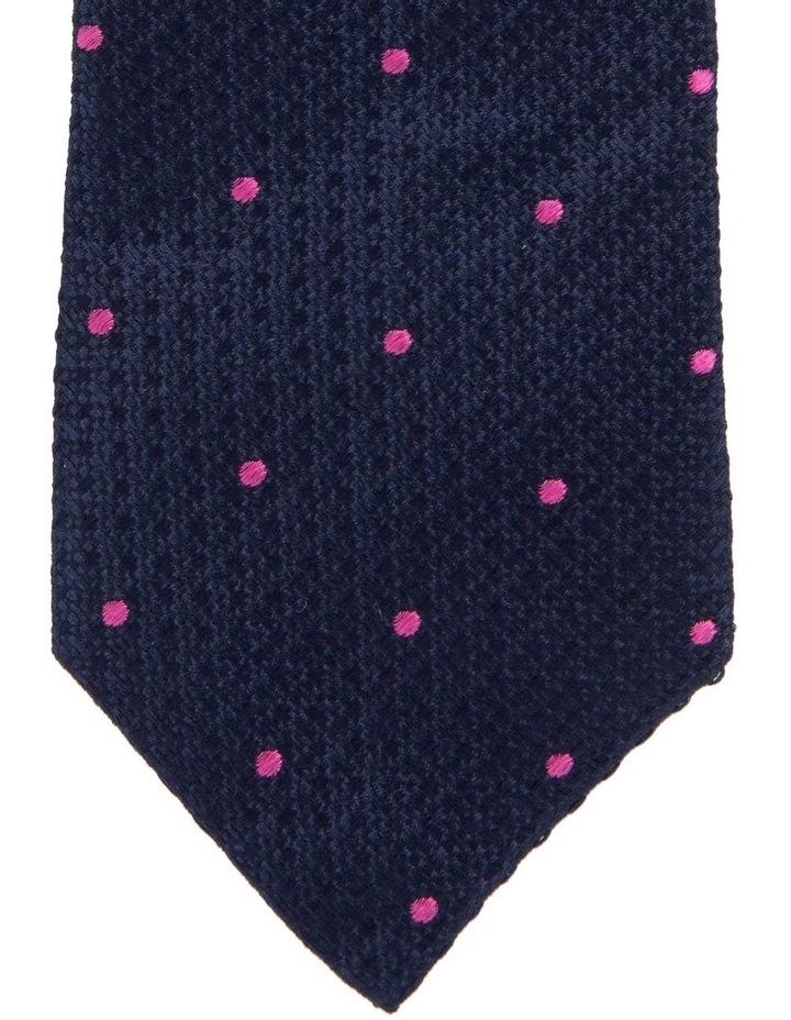 Textured Tie Pink image 2