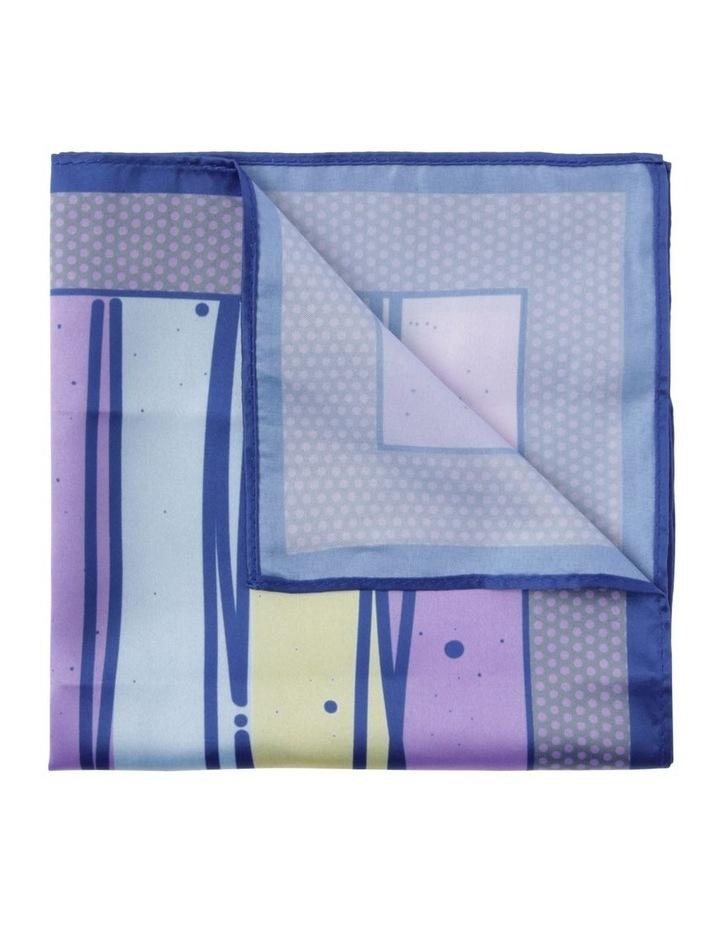Printed Pocket Square Lilac image 1