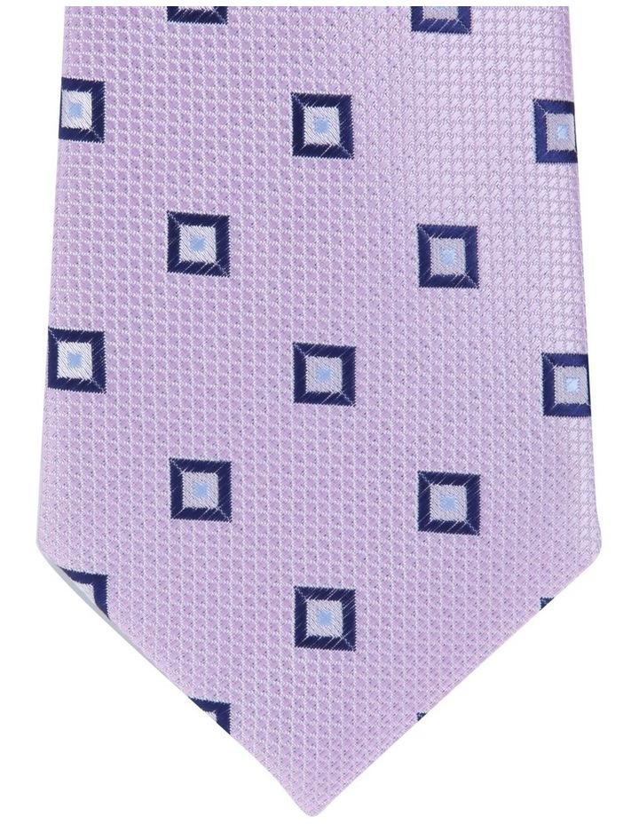2 Pack Tie Geo/Diamond Tie Gift Pack Pink/Pink image 2