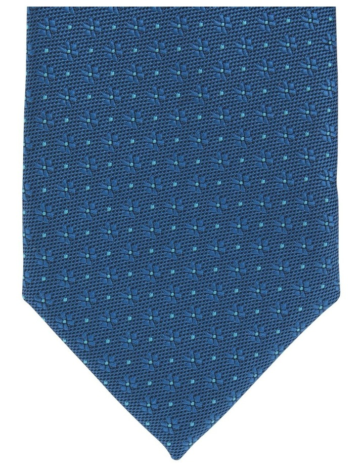 Check/Spot Tie Gift Pack Navy/Teal 2 Pack Tie image 2