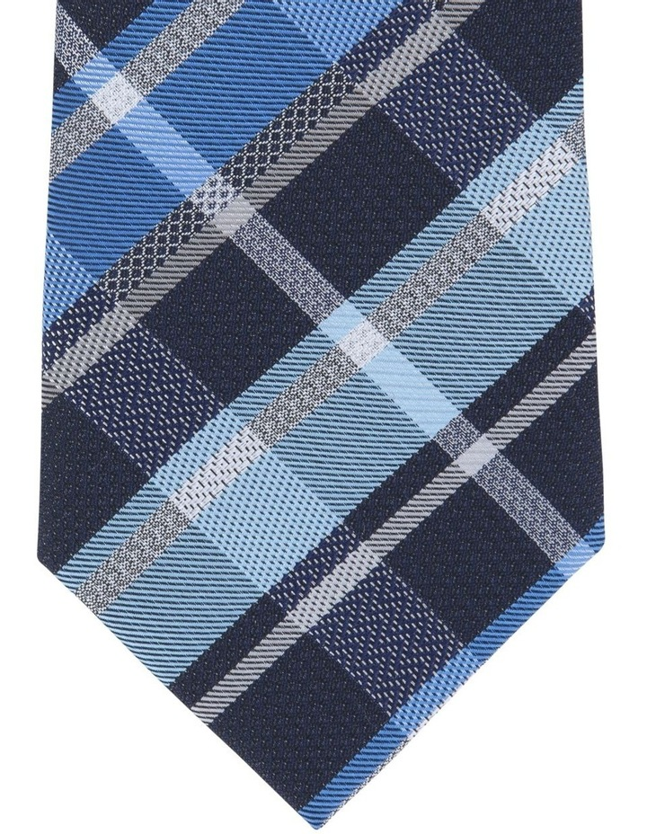 Check/Spot Tie Gift Pack Navy/Teal 2 Pack Tie image 3