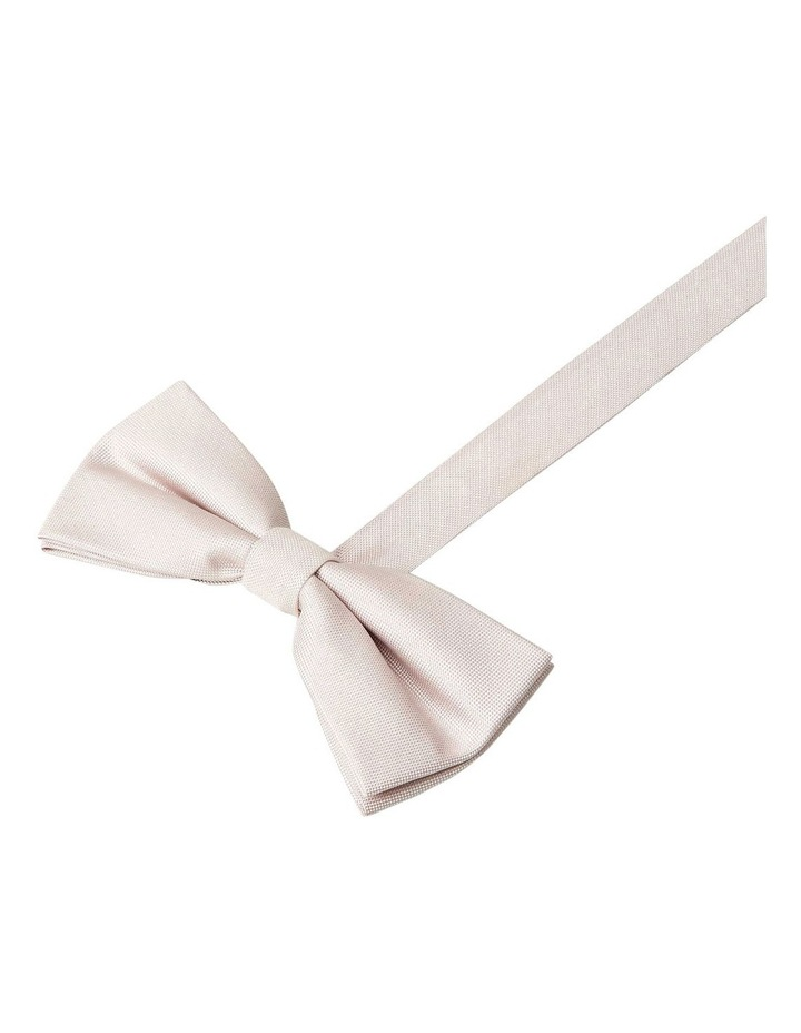 Ellroy Semi Plain Bow Tie Pink image 1