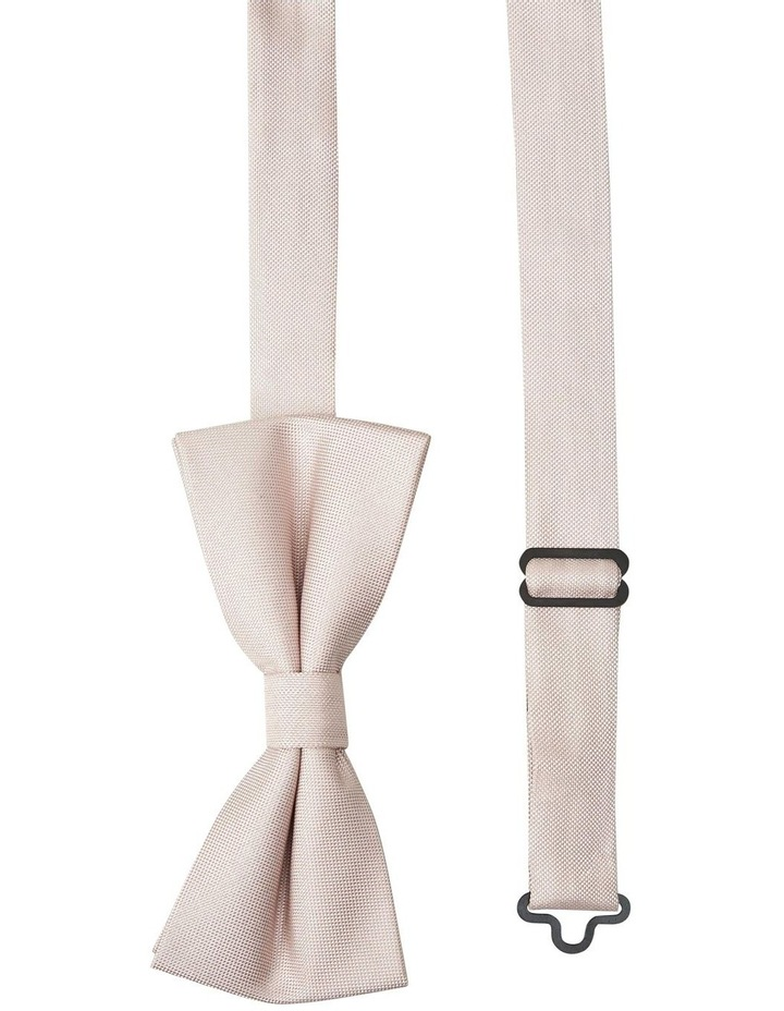 Ellroy Semi Plain Bow Tie Pink image 2