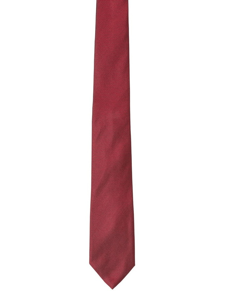 Textured Plain Tie image 1