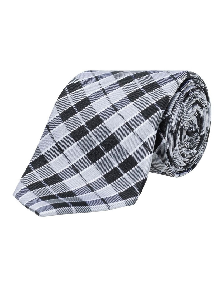 Check Silk Tie image 1