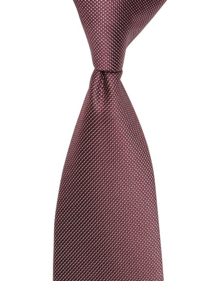 Stripe Plain Poly Tie image 1