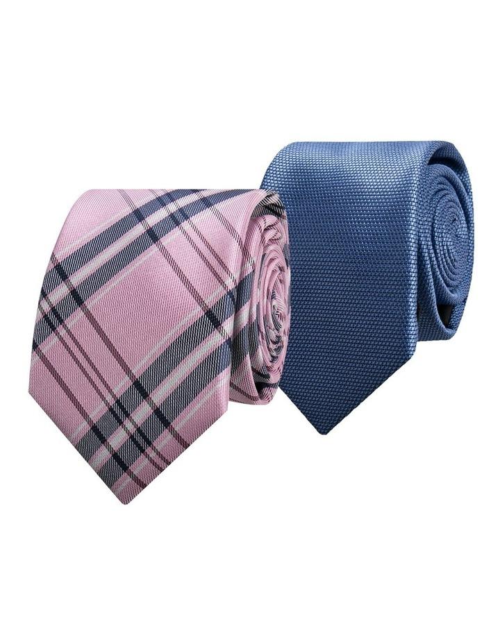2 Pack Tie Pink/Light Blue image 1