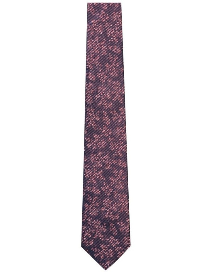 Stripe/Floral Tie image 1