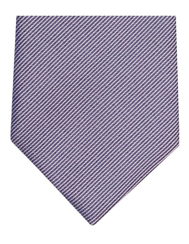 Van Heusen Mauve Textured Silk Tie image 2