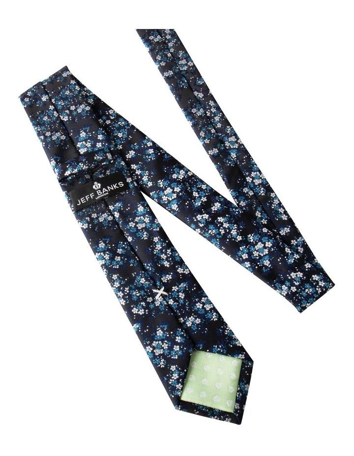Floral/Plain 2 Pack Tie image 2