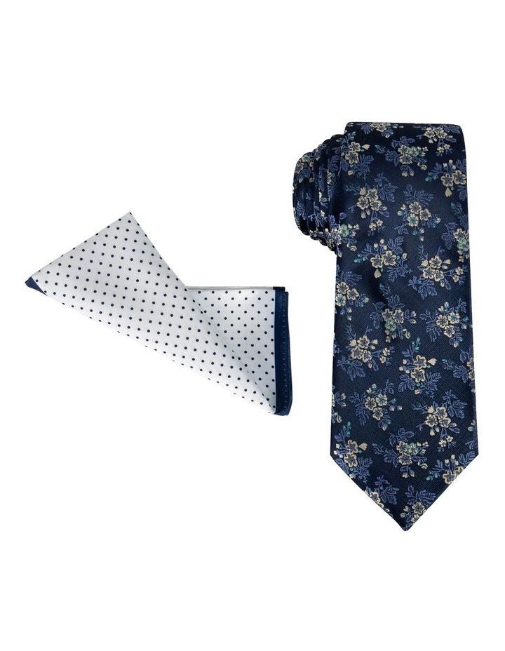 Floral/Spot Tie/Pocket Square image 1
