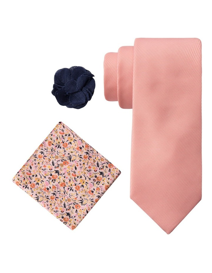 Sustainable Tie, Pocket Square And Pin image 1